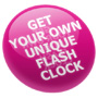 Click here if you would like to commission your own flash clock.