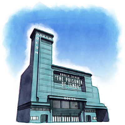Previous - ODEON Leicester Square Watercolour